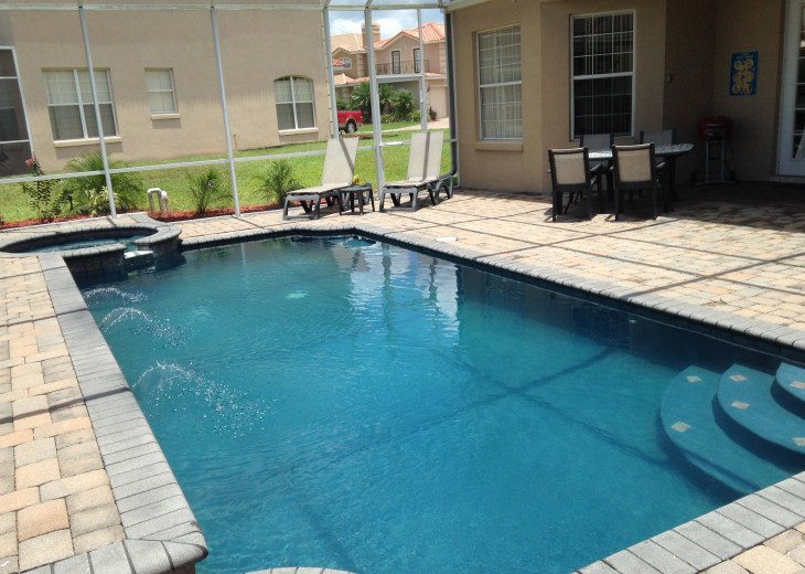 "LUXURY VILLA, NEXT TO DISNEY WORLD, WI-FI, POOL, HOT TUB, GRILL, 60"" SMART TV, #5"