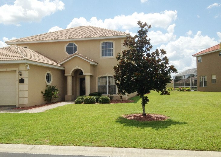 "LUXURY VILLA, NEXT TO DISNEY WORLD, WI-FI, POOL, HOT TUB, GRILL, 60"" SMART TV, #32"