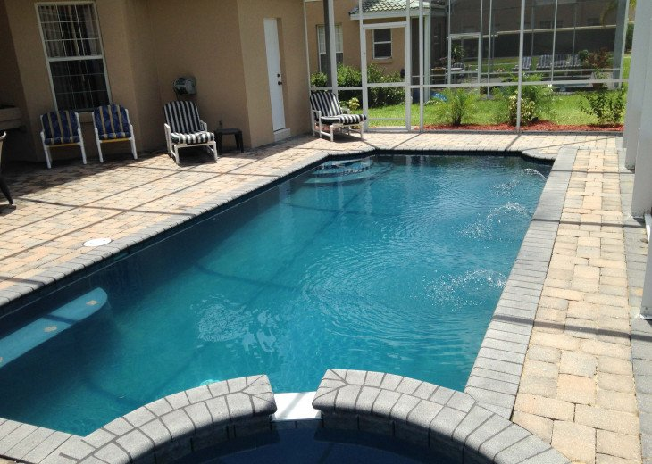 "LUXURY VILLA, NEXT TO DISNEY WORLD, WI-FI, POOL, HOT TUB, GRILL, 60"" SMART TV, #6"