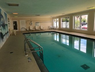 Clubhouse heated lap pool