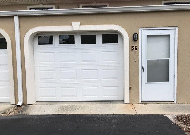 One car enclosed garage