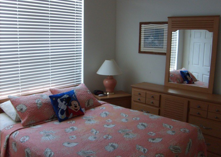 First floor room, queen size bed, private bath, flat screen TV