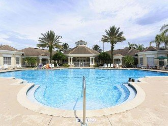 Olympic Size Salt Water Clubhouse pool
