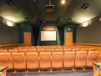 Clubhouse with movie theather