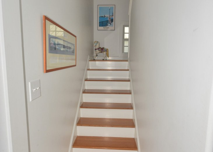 stairs leading up to second floor