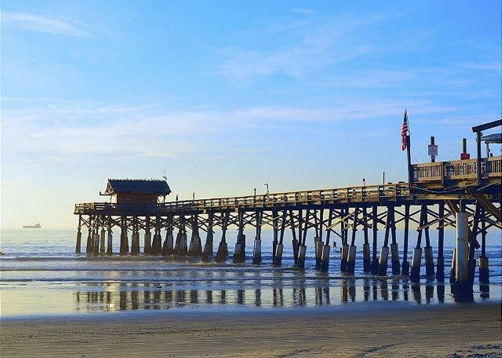 famous Cocoa Beach pier under 2 miles away