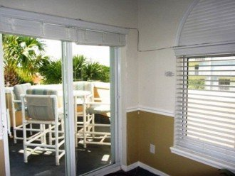 patio doors from Great Room to balcony with ocean view