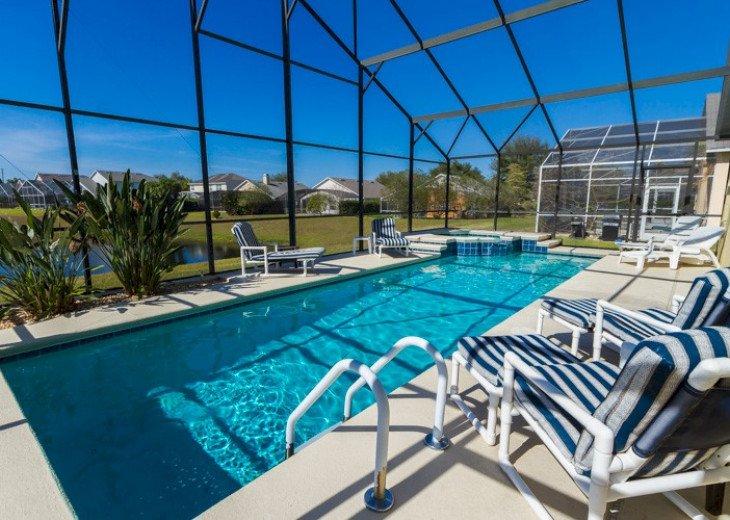 Stunning Villa Starlake | 6-Bedroom Pool Home with Lake View | Sleeps 12 #34