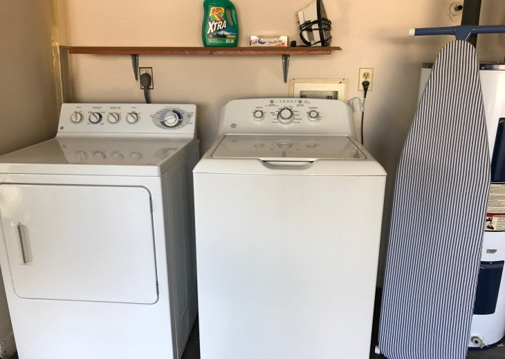 Fullsize washer and dryer
