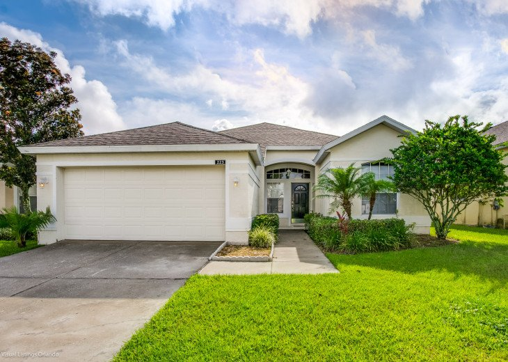 $89 SALE AFFORDABLE FLORIDA VACATION RENTAL VILLA WITH A POOL NEAR DISNEY #43