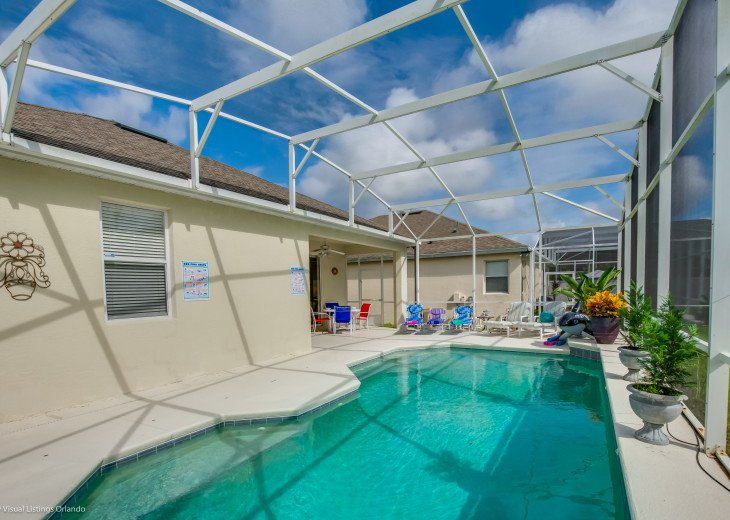 $89 SALE AFFORDABLE FLORIDA VACATION RENTAL VILLA WITH A POOL NEAR DISNEY #32