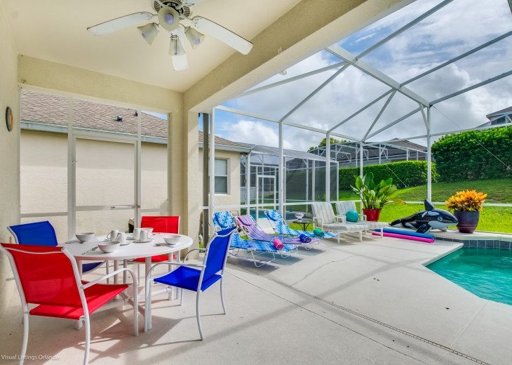 $89 SALE AFFORDABLE FLORIDA VACATION RENTAL VILLA WITH A POOL NEAR DISNEY #23