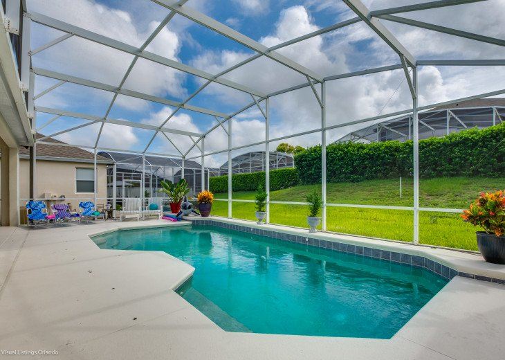 BEAUTIFUL VACATION HOME ON A GOLF COURSE WITH A POOL NEAR DISNEY #21