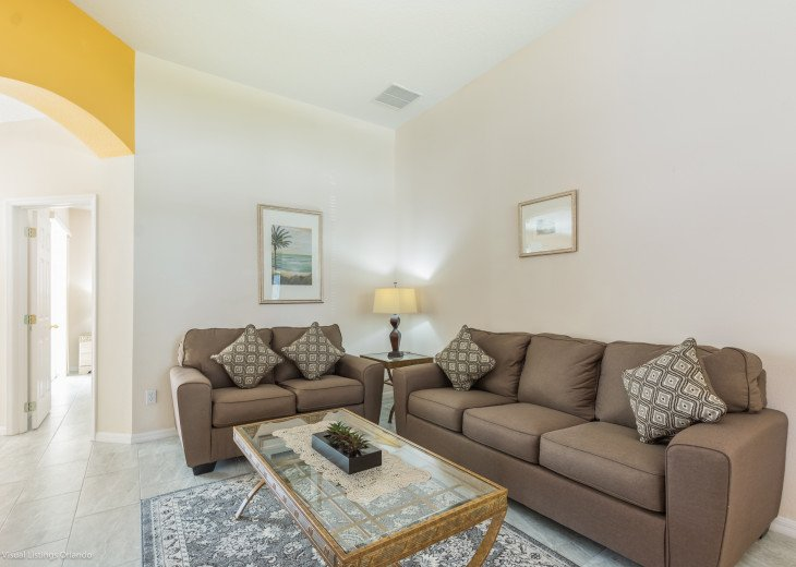 $89 SALE AFFORDABLE FLORIDA VACATION RENTAL VILLA WITH A POOL NEAR DISNEY #22