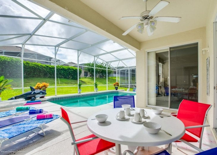 $89 SALE AFFORDABLE FLORIDA VACATION RENTAL VILLA WITH A POOL NEAR DISNEY #25