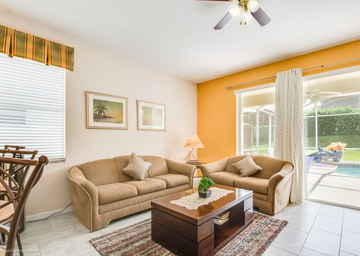 $89 SALE AFFORDABLE FLORIDA VACATION RENTAL VILLA WITH A POOL NEAR DISNEY #38