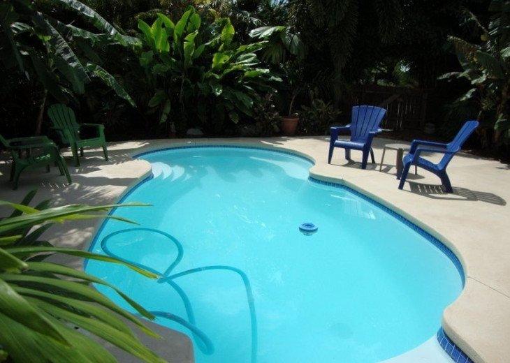 Cudjoe Gardens Oceanside, Deep Water Canal, Pool Home #8