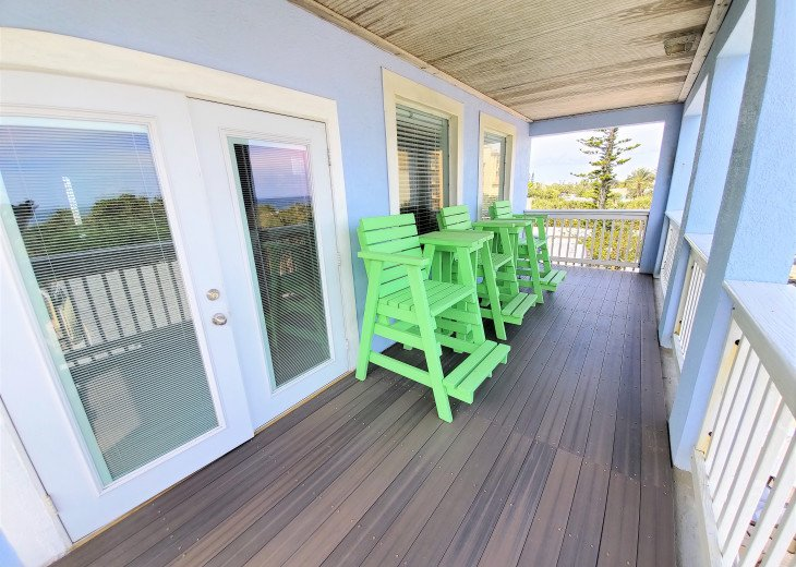House on Oceanfront Property, Great Ocean View, Steps To The Sand, Sleeps 10 #21