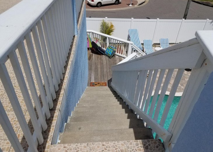 House on Oceanfront Property, Great Ocean View, Steps To The Sand, Sleeps 10 #23