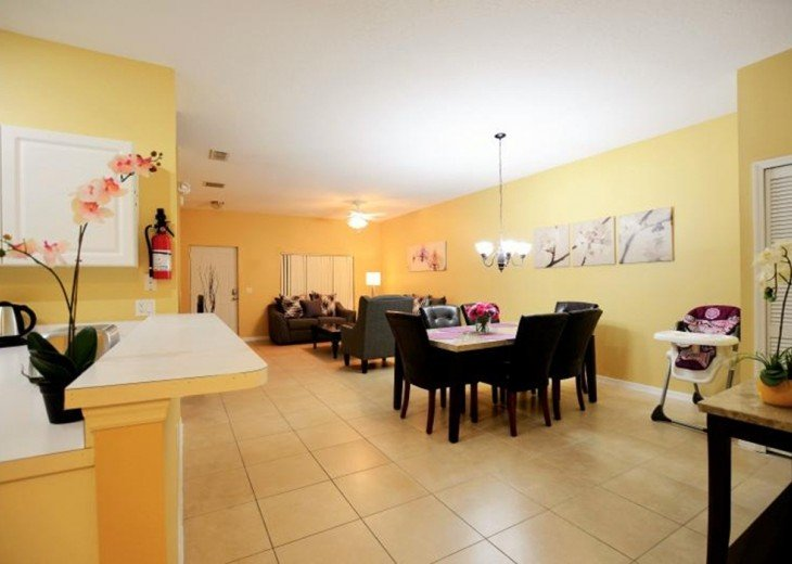 New opening 3br/2ba condo/lake view,2 miles to Disney #5