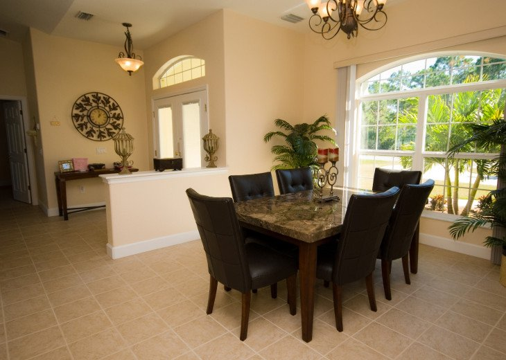 Elegant dining area