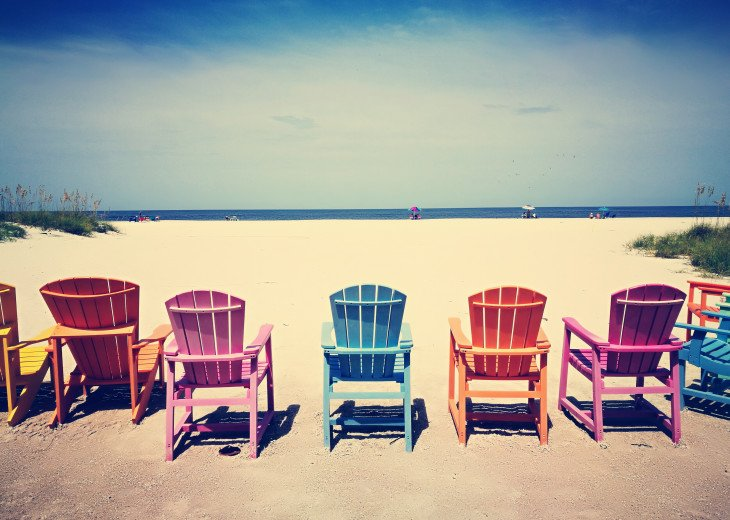 The iconic & exclusive Bocca Grand Beach