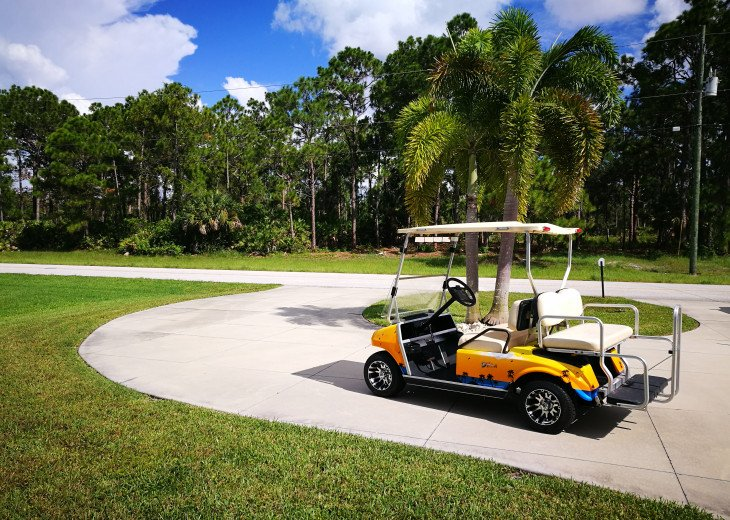 Take a ride to the local golf course