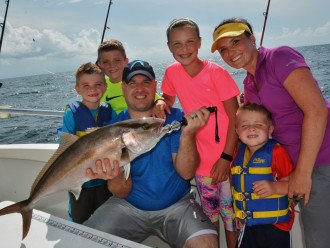 Book a deep-sea fishing adventure for all the family