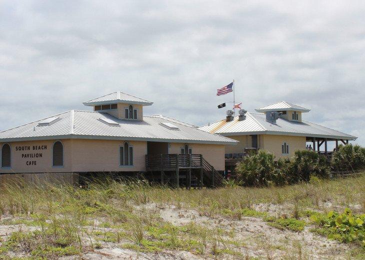 Fabulous facilities at the beach