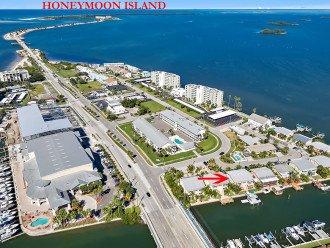 Honeymoon Island is just a few minutes by bike or car. Voted Americas best beach