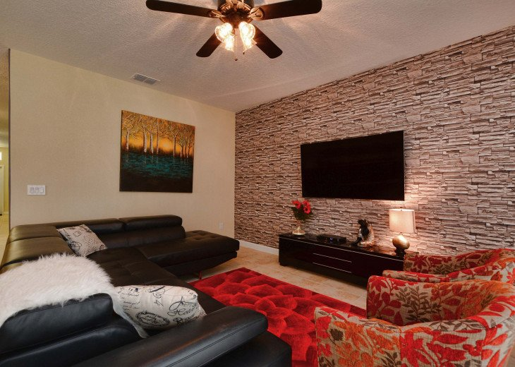 Luxurious! 5 min to Disney! South facing pool/Gameroom/Baby Gear #2