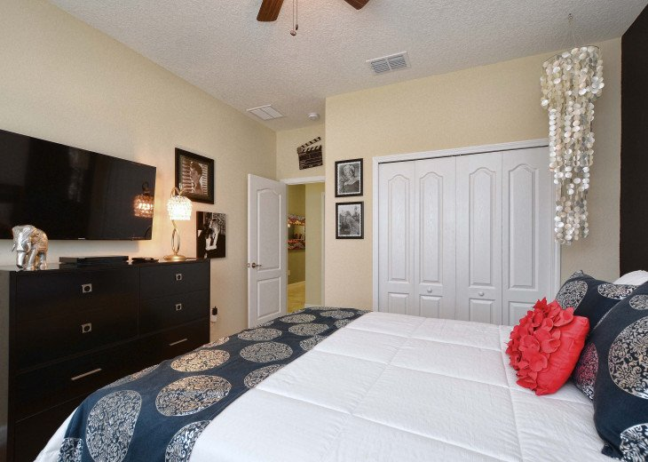 Luxurious! 5 min to Disney! South facing pool/Gameroom/Baby Gear #14