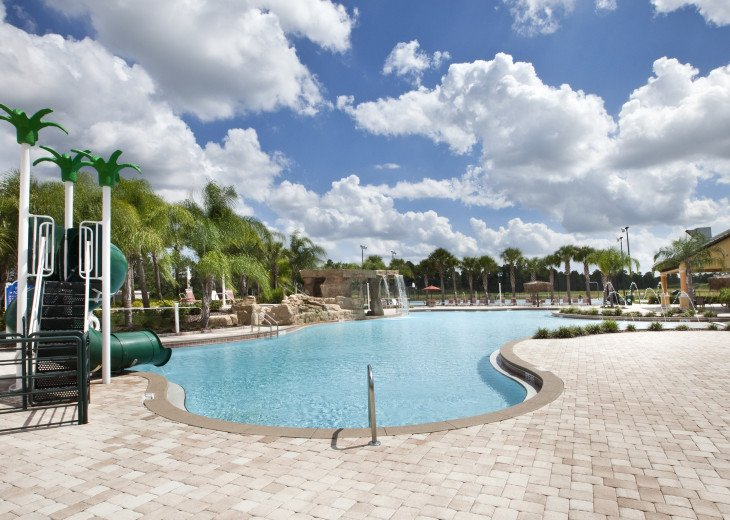 Luxurious! 5 min to Disney! South facing pool/Gameroom/Baby Gear #42