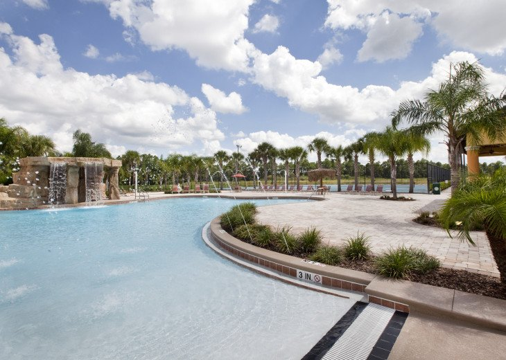 Luxurious! 5 min to Disney! South facing pool/Gameroom/Baby Gear #48