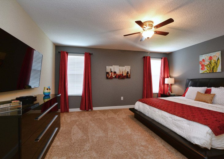 Luxurious! 5 min to Disney! South facing pool/Gameroom/Baby Gear #18