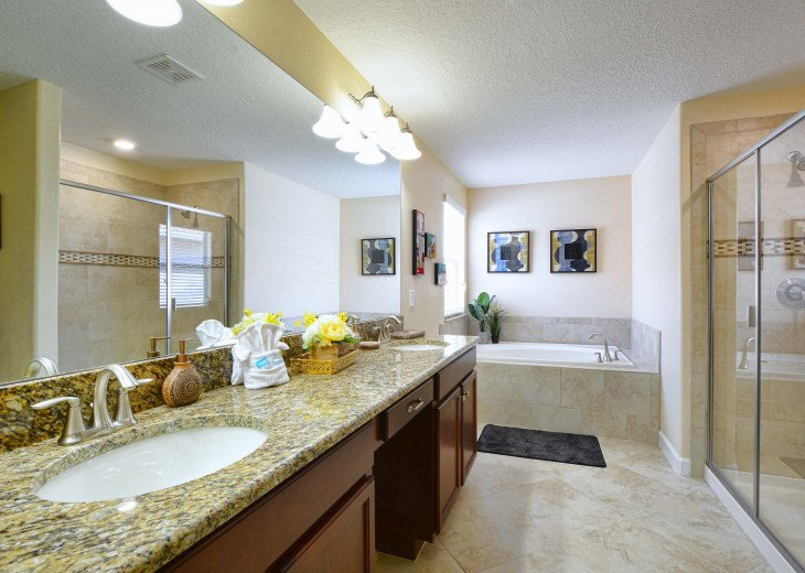 Luxurious! 5 min to Disney! South facing pool/Gameroom/Baby Gear #17