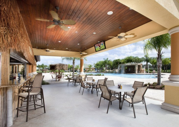 Luxurious! 5 min to Disney! South facing pool/Gameroom/Baby Gear #50