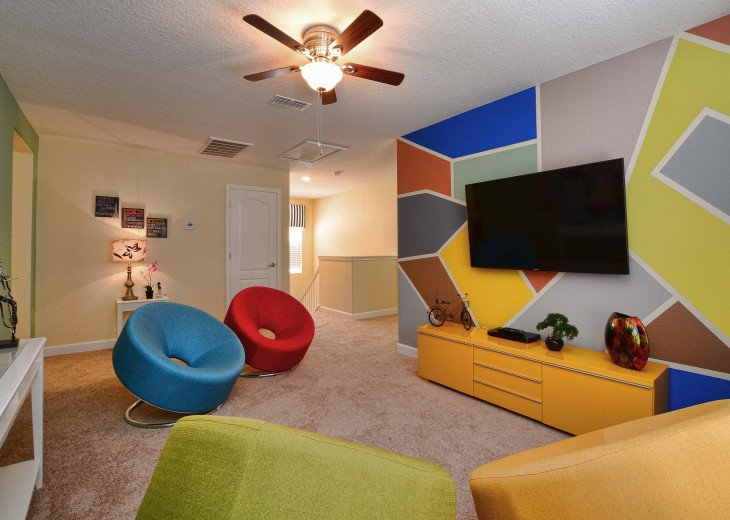 Luxurious! 5 min to Disney! South facing pool/Gameroom/Baby Gear #22