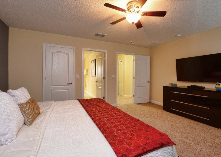 Luxurious! 5 min to Disney! South facing pool/Gameroom/Baby Gear #31