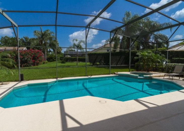 Tropical outlook from pool deck - 30ft x 15ft pool