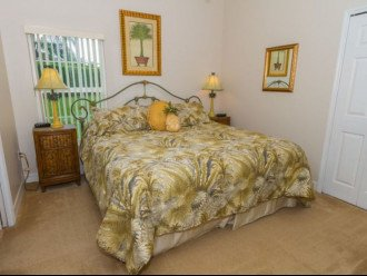 Master Bedroom 2: King size bed with top of the line pillow top mattress