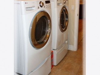 Utility Room with top of the line appliances