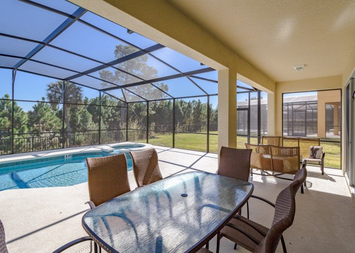 Enjoy your own outdoor veranda in this 5-bedroom with private pool and spa #37