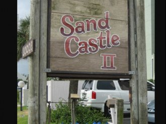 "Welcome to Sand Castle II ""You've found Paradise """