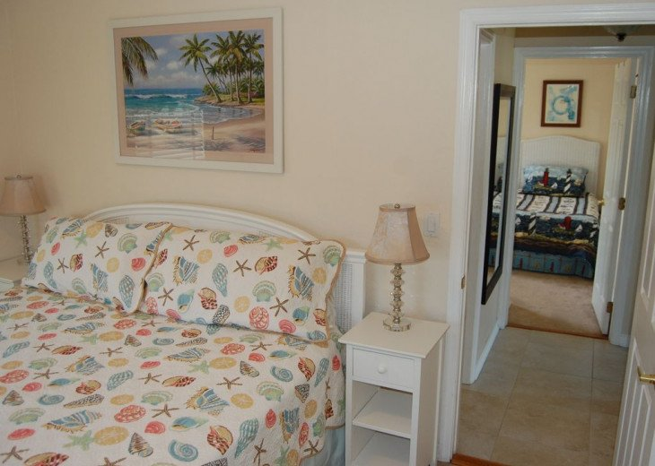 Upstairs King and Twin Bedrooms