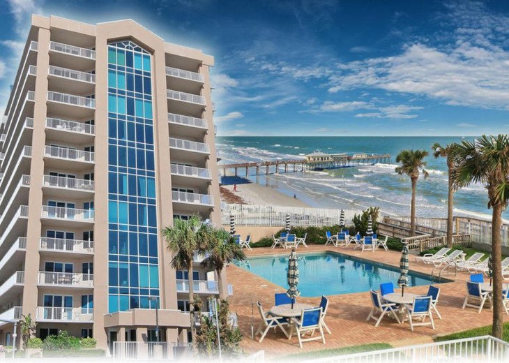 Condo on beautiful Daytona Beach Shores #2