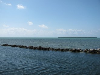 Open Ocean Views and Tavernier Key in the distance