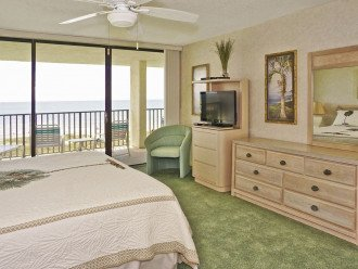BEACH FRONT PENTHOUSE w/Private Balcony - Master Bedroom & Living Room on Ocean #1