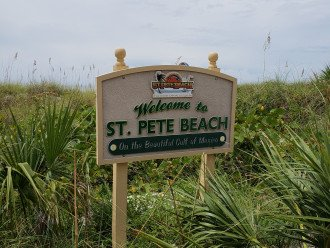 Welcome to St. Pete Beach