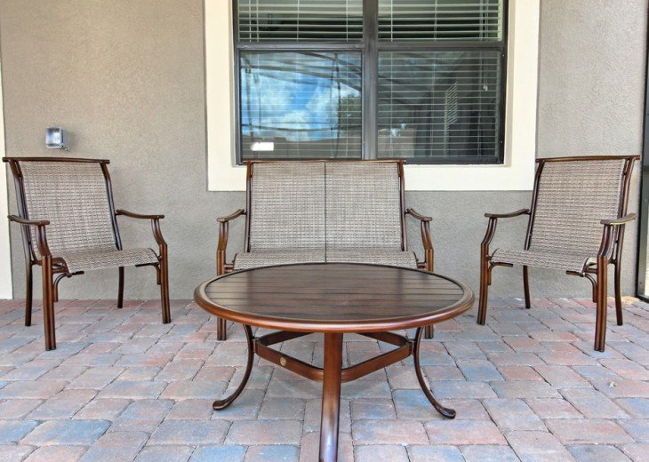 Upgraded patio furniture